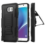 R-CASE Future Armor Hardcase with Belt Clip Holster Case for Samsung Galaxy Note 5 - Casing Handphone / Case