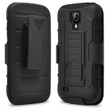 R-CASE Future Armor Hardcase with Belt Clip Holster Case for Samsung Galaxy S4 Mini - Casing Handphone / Case