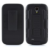 R-CASE Future Armor Hardcase with Belt Clip Holster Case for Samsung Galaxy S4 - Casing Handphone / Case