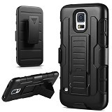 R-CASE Future Armor Hardcase with Belt Clip Holster Case for Samsung Galaxy S5 - Casing Handphone / Case