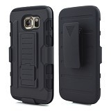 R-CASE Future Armor Hardcase with Belt Clip Holster Case for Samsung Galaxy S6 - Casing Handphone / Case