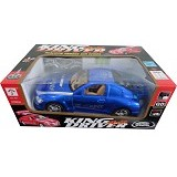 RAJA TOYS King Driver Mobil Remote 767 - Blue (Merchant) - Car Remote Control