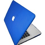 "RAJAPPLECOM Matte Case HardCase For Macbook Pro 13.3"" - Biru - Notebook Hard Shell Case"