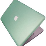 "RAJAPPLECOM Matte Case HardCase For Macbook Pro 13.3"" - Hijau - Notebook Hard Shell Case"