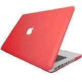 "RAJAPPLECOM Matte Case HardCase For Macbook Pro 13.3"" - Merah - Notebook Hard Shell Case"