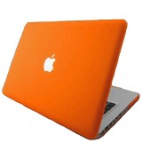 "RAJAPPLECOM Matte Case HardCase For Macbook Pro 13.3"" - Orange - Notebook Hard Shell Case"