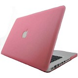 "RAJAPPLECOM Matte Case HardCase For Macbook Pro 13.3"" - Pink - Notebook Hard Shell Case"