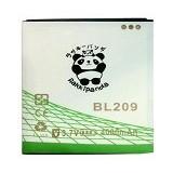 RAKKIPANDA Battery for Lenovo A706/ 880/ 516 [BL-209] - Handphone Battery