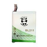 RAKKIPANDA Battery for Lenovo P780 8000mAh [BL-211] - Handphone Battery
