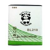 RAKKIPANDA Battery for Lenovo S650/ S820 [BL-210] - Handphone Battery