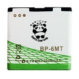 RAKKIPANDA Battery for Nokia BP-6MT 2000 mAh - Handphone Battery