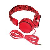 RBT Headset [EP05B] - Red (Merchant) - Headphone Portable