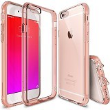 REARTH Ringke Fusion Case for Apple iPhone 6 / 6s - Rose Gold - Casing Handphone / Case