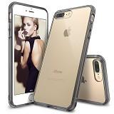 REARTH Ringke Fusion iPhone 7 Plus - Smoke Black - Casing Handphone / Case