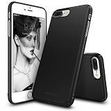 REARTH Ringke Slim for iPhone 7 Plus [SLAP0013] - SF Black (Merchant) - Casing Handphone / Case