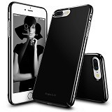 REARTH Ringke Slim for iPhone 7 Plus [SLAP0022] - Gloss Black (Merchant) - Casing Handphone / Case