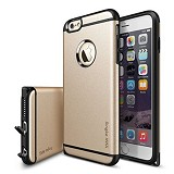 REARTH Apple iPhone 6 Case Ringke Max Royal - Gold - Casing Handphone / Case