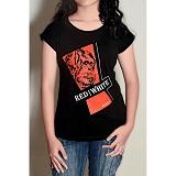 REDWHITE1945 RedWhite1945 Logo T-shirt Size M - Black - Kaos Wanita