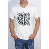 REDWHITE1945 Surya Majapahit Size XL - Broken White - Kaos Pria