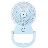 REMAX Beauty Moisture Mini Fan F9 Rechargeable Battery - Blue (Merchant) - USB & Portable Fan