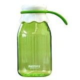 REMAX Enjoy Series Water Bottle 400 ml [RCUP-011] - Green (Merchant) - Botol Minum