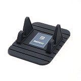 REMAX Fairy Stand Phone Holder - Black (Merchant) - Gadget Docking