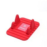 REMAX Fairy Stand Phone Holder - Red (Merchant) - Gadget Docking