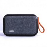 REMAX Portable Fabric Bluetooth Speaker [RB-M16] - Black (Merchant) - Speaker Bluetooth & Wireless