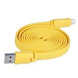 REMAX Scale Micro USB - Yellow - Cable / Connector Usb