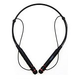 REMAX Sporty Neckband Wireless Stereo Headset [RB-S6] - Black (Merchant) - Headset Bluetooth