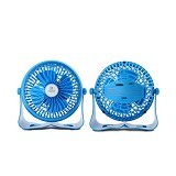 REMAX USB Mini Fan [F3] - Blue (Merchant) - Kipas Angin Meja