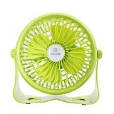 REMAX USB Mini Fan [F3] - Green (Merchant) - Kipas Angin Meja