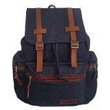 RESPECT Jeans Asterix Backpack - Navy (Merchant) - Backpack Pria