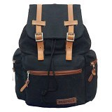 RESPECT Negro Asterix Backpack - Black (Merchant) - Backpack Pria