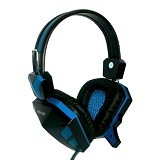 REXUS Gaming Headset [F22] - Blue (Merchant) - Gaming Headset