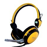 REXUS Gaming Headset [RX-995] - Yellow (Merchant) - Gaming Headset