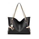 RIYOW VISUALSTORE Tas Wanita [BQ1454] - Black (Merchant) - Shoulder Bag Wanita