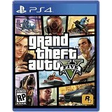ROCKSTAR GAMES Grand Theft Auto V PlayStation 4 [GTA V] - Cd / Dvd Game Console