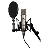RODE Complete Vocal Recording Solution [NT1-A] - Microphone Condenser