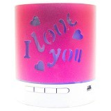 ROKER Bluetooth Portable Speaker [F-2030B] - Pink - Speaker Bluetooth & Wireless