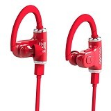 ROMAN Sports Double Ear Peices Wireless Blue0tooth [S530] - Red (Merchant) - Headset Bluetooth