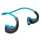 ROMAN Sporty Wireless Headset [G06] - Blue (Merchant) - Headset Bluetooth