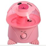 ROOM DECOR Cool Mist Humidifier Wink Pig 4L [HUMUG-C10] - Pink (Merchant) - Air Humidifier