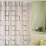 ROOM DECOR Shower Curtain Premium RDN005 [RDSC037] (Merchant) - Tirai Kamar Mandi