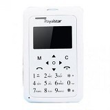 ROYALSTAR Credit Size Mobile Phone [W102] - White (Merchant) - Handphone Gsm