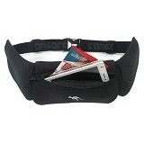 KANGAROO Neoprone Waist [ASS333] - Black - Tas Pinggang / Travel Waist Bag