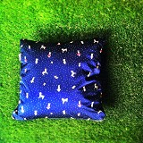 SADE.INDONESIA Cushion Cover - Rabbit blue - Sarung Bantal