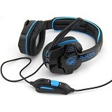 SADES G-POWER [SA-708] - Blue  (Merchant) - Gaming Headset
