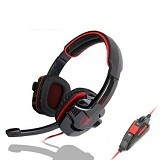 SADES Headset Gaming G-Power [Sa-708] - Red (Merchant) - Gaming Headset