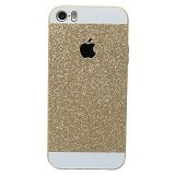 SAGA CASE ID Glitter Jelly iPhone 5S - Gold - Casing Handphone / Case